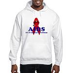 AIDS RIBBON Hooded Sweatshirt