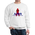 AIDS RIBBON Sweatshirt