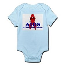 AIDS RIBBON Infant Creeper