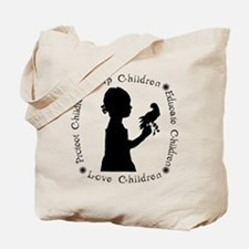 Protect Children Rights Tote Bag