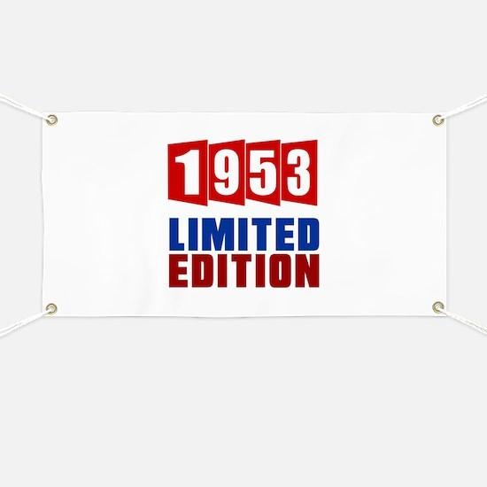 1953 Limited Edition Birthday Banner