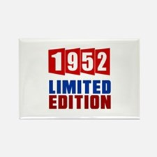 1952 Limited Edition Birthday Rectangle Magnet