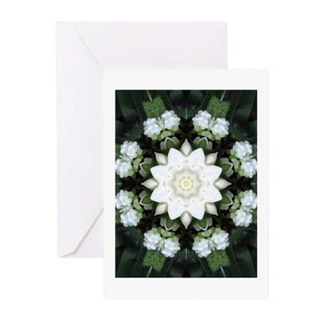 Lotus Mandala Greeting Cards (Pk of 10)