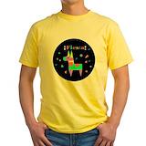 Adult cinco de mayo Mens Yellow T-shirts