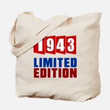 1943 Limited Edition Birthday Tote Bag