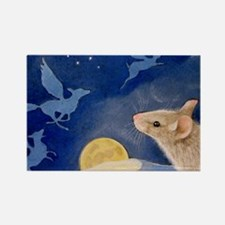 Mouse and Angels Magnet