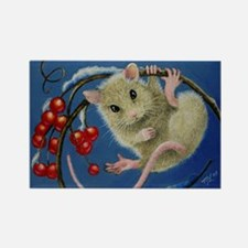 Mouse and Berries Magnet
