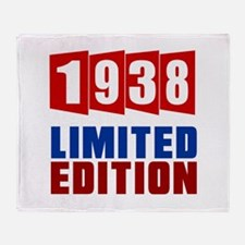 1938 Limited Edition Birthday Throw Blanket