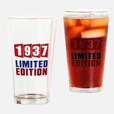1937 Limited Edition Birthday Drinking Glass