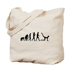 Aerobics Yoga Stretching Tote Bag