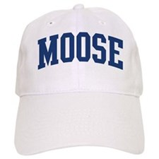 MOOSE design (blue) Baseball Cap