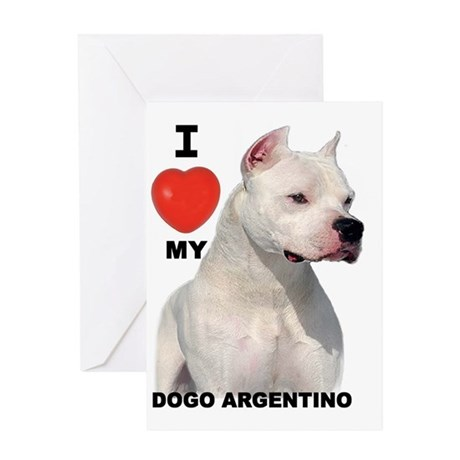 Dogo Greeting Cards