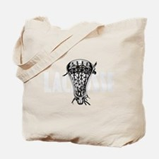 Lacrosse Nuff Said Tote Bag