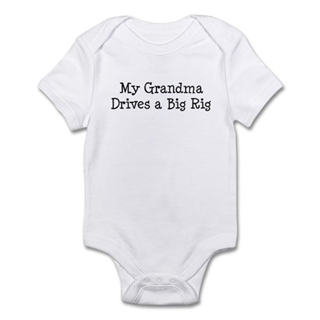Grandma Drives a Big Rig Infant Bodysuit