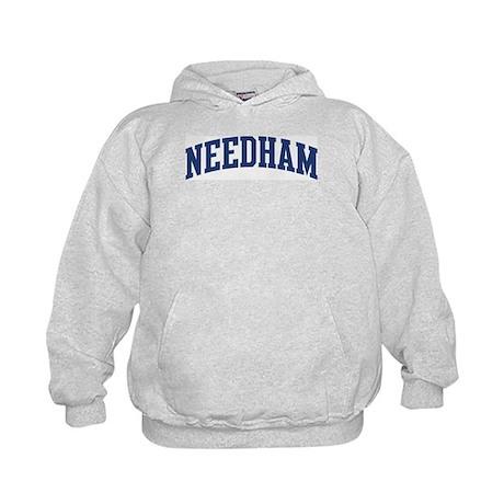NEEDHAM design (blue) Kids Hoodie
