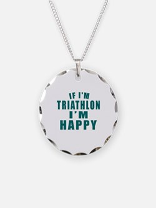 If I Am Triathlon Necklace