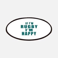If I Am Rugby Patch