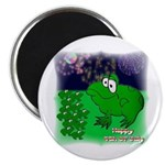 "HAPPY 4TH OF JULY FROGS 2.25"" Magnet (10 pack)"