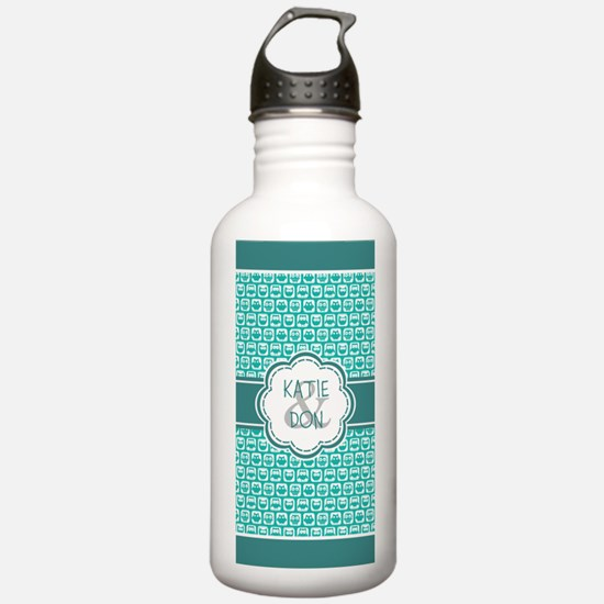 Personalized Owl Gift Water Bottle
