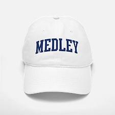 MEDLEY design (blue) Baseball Baseball Cap