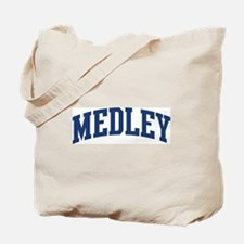 MEDLEY design (blue) Tote Bag