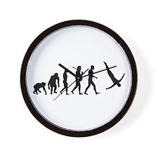 Diving Evolution Wall Clock