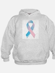 Premature Birth Awareness Ribbon Hoodie