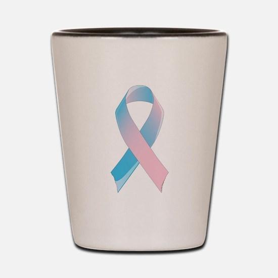 Premature Birth Awareness Ribbon Shot Glass
