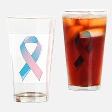 Premature Birth Awareness Ribbon Drinking Glass