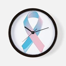 Premature Birth Awareness Ribbon Wall Clock