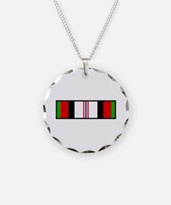 Afghanistan Campaign Ribbon Necklace