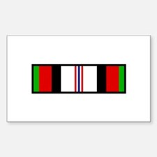 Afghanistan Campaign Ribbon Decal