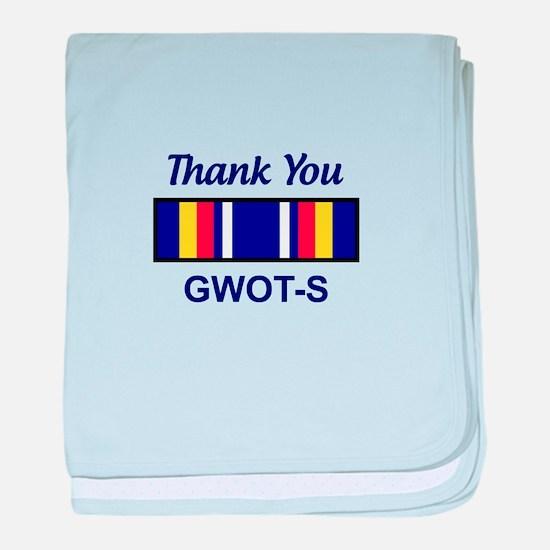 GWOT Service baby blanket