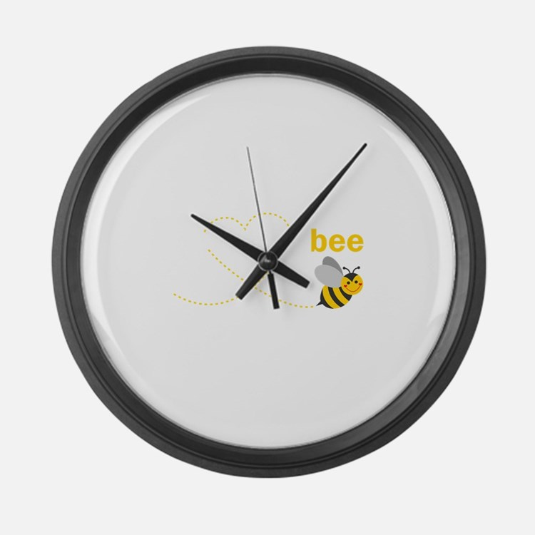 Daddy To Bee Large Wall Clock