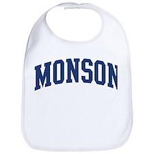 MONSON design (blue) Bib