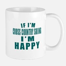 If I Am Cross Country Skiing Mug