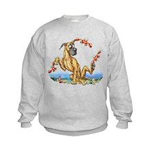Great Dane Brindle Crabby Sweatshirt