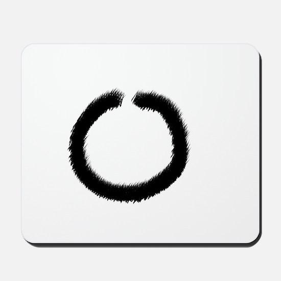 Zen circle Mousepad