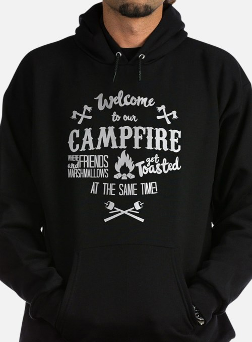 Campfire Marshmallow and Friends Hoodie