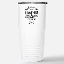 Getting Wasted at Campfire Travel Mug