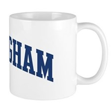 NOTTINGHAM design (blue) Mug
