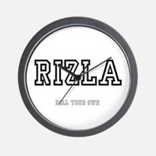 RIZLA, ROLL YOUR OWN :- Wall Clock