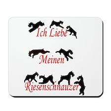 i love giants / german Mousepad