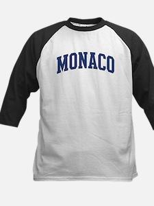 MONACO design (blue) Kids Baseball Jersey