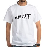 Gymnastics Mens White T-shirts