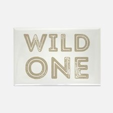Cute Wild one Rectangle Magnet
