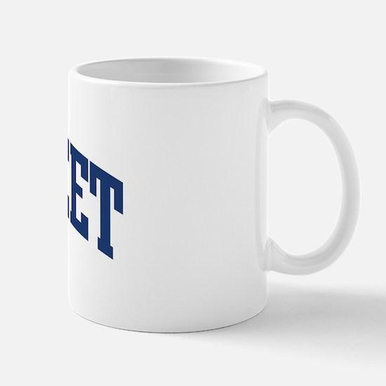 NORFLEET design (blue) Mug