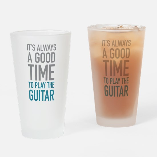 Play Guitar Drinking Glass