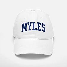 MYLES design (blue) Baseball Baseball Cap