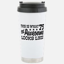 Cool Funny birthday Stainless Steel Travel Mug